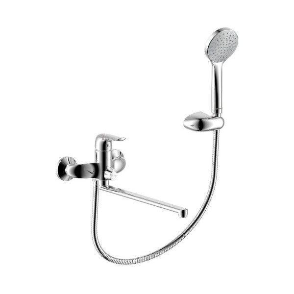 Смеситель для ванны/душа Palace Evo с унив. изливом 350 мм, ручным душем 429500000