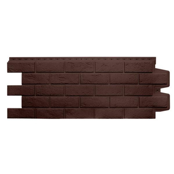 Состаренный кирпич коричневый