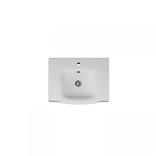 Раковина LIKE мебельная керамическая 65 см M80WCC0652WG
