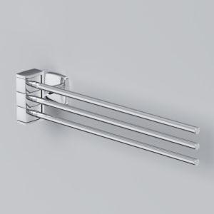 Тройная вешалка-вертушка для полотенец GEM A9032700