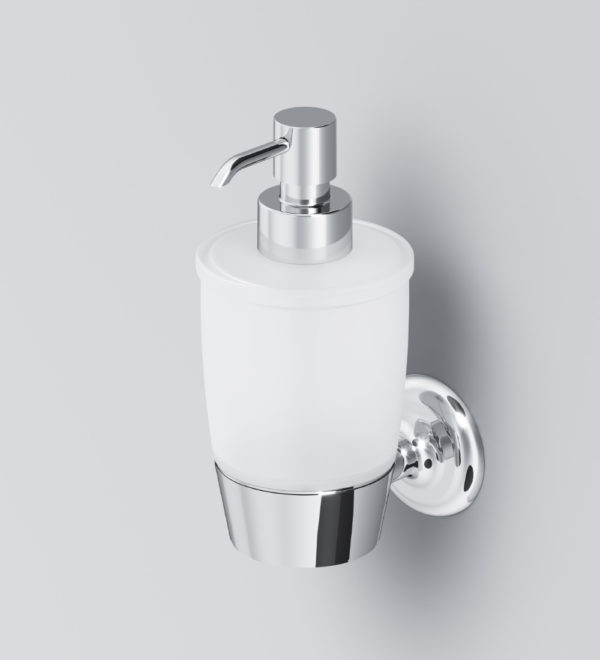 Стеклянный диспенсер для жидкого мыла с настенным держателем LIKE A8036900