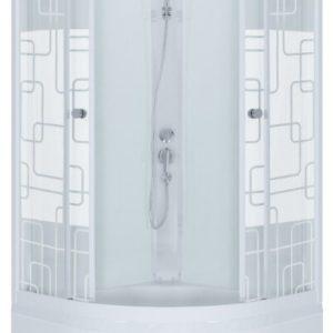 Душевая кабина Стандарт Б 90*90 ДН3, Квадраты, полукруг, глубокий поддон