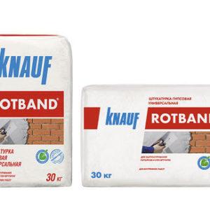 Штукатурка гипсовая универсальная Knauf Rotband 30kg