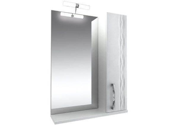 Зеркало 80 Кристи подсветка, шкаф правый
