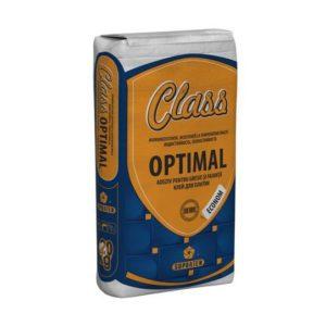 """Клей для плитки CLASS Optimal"""" 20 кг."""