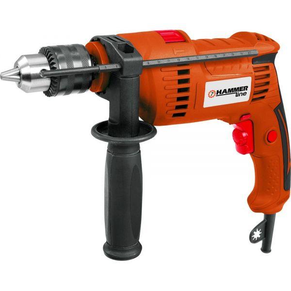 Дрель-ударная 13мм 570 Вт 2850 об/мин.Hammer /34349