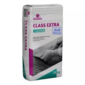 """Клей для плитки CLASS EXTRA"""" белый 25 кг."""