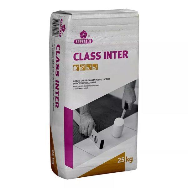 """Клей для плитки CLASS INTER"""" 5 кг."""