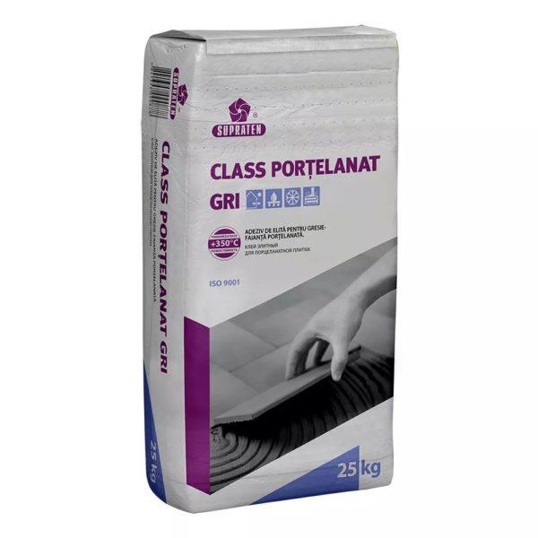 """Клей CLASS PORTELANAT"""" серый 5 кг"""""""