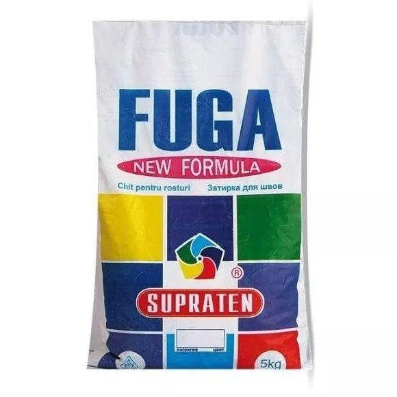 SUPRATEN Фуга серая ( 5 кг. )