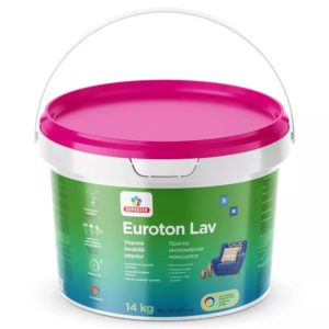 EUROTON LAV B-0  4.2 кг - Краска интерьерная моющаяся