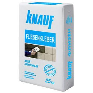 Плиточный клей на основе цемента для внутренних работ Knauf Baund Flisenkleber 25kg