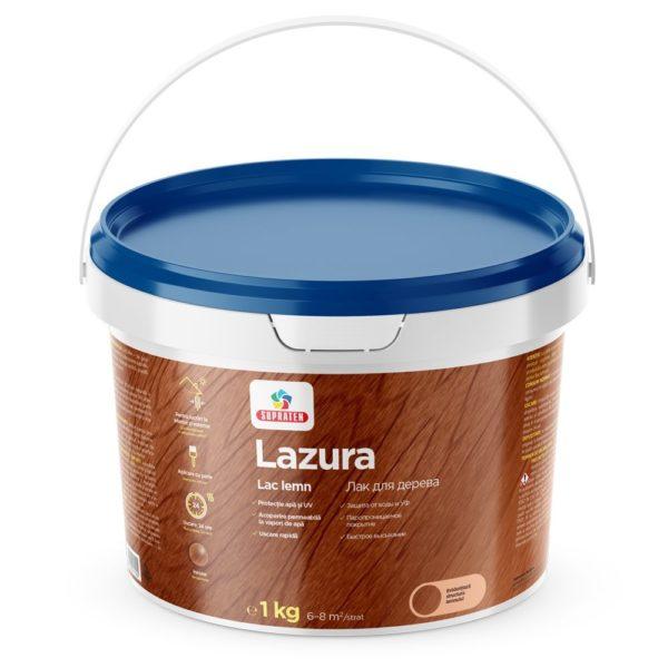 Lac de ton Lazura mahag. 3kg