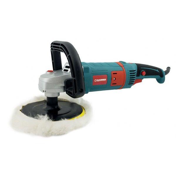 Полировальная машина d180mm 1400Bt 600-3200об.мин Hammer/34351