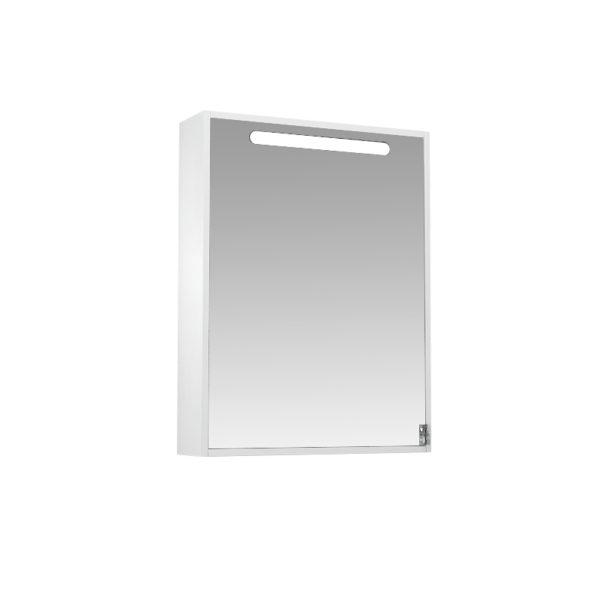 Зеркальный шкаф 60 Диана подсветка, шкаф левый