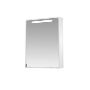 Зеркальный шкаф 60 Диана подсветка, шкаф правый
