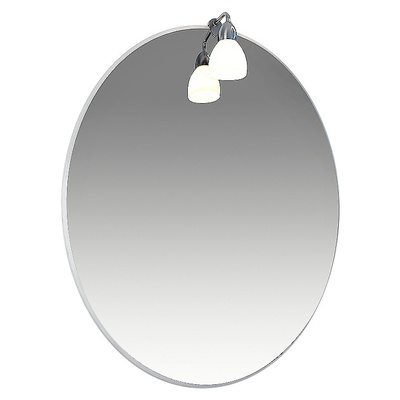 Зеркало 50 Лира 1 светильник